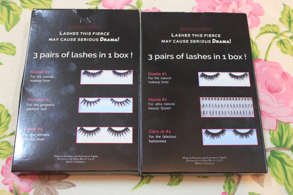 My Prize from Show Me Your Eyes Contest : Huda Beauty False Eyelashes Kits (3/6)
