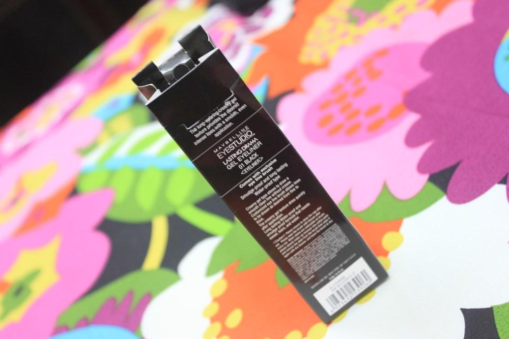 Rave Review : Maybelline Eye Studio Lasting Drama Gel Eyeliner (2/6)