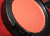 MAC's Ambering Rose Sheer Tone blush (flash)