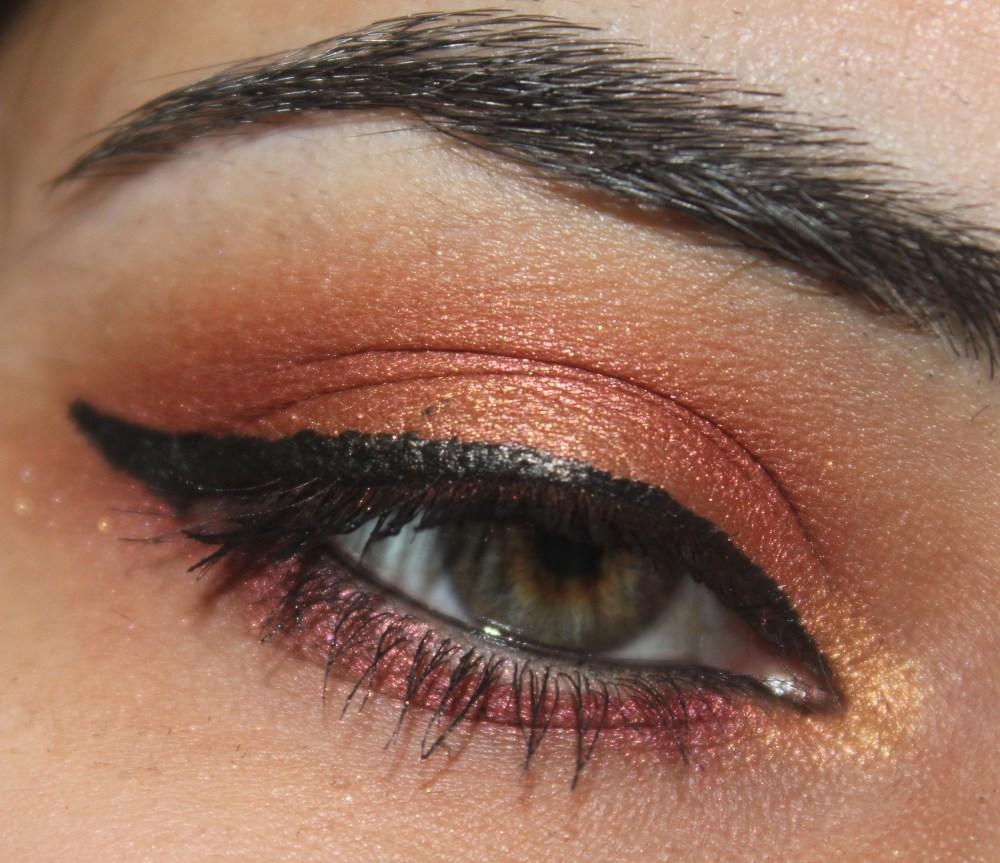 INGLOT Eyeshadows : Sunset Inspired Eye Look (3/3)