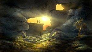 Flucht ins Licht