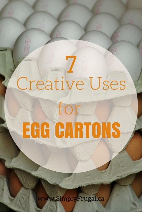 Creative Uses for Egg Cartons