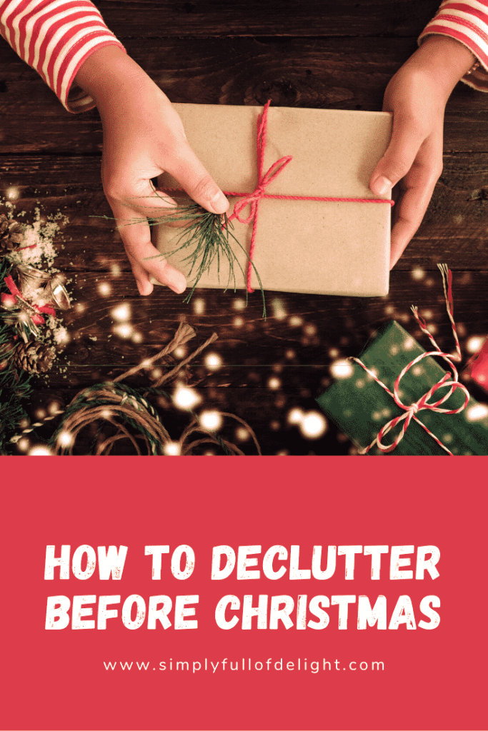 How to Declutter before Christmas