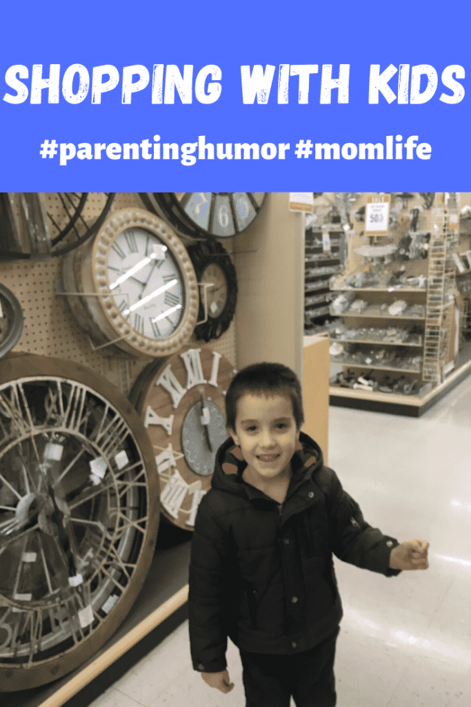 shopping with kids #parenting humor #momlife