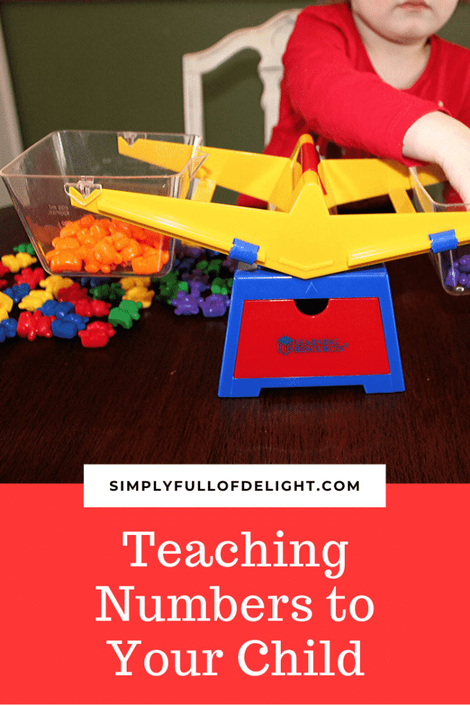 Teaching Numbers to Your Child - 17 books, puzzles, and toys to help your child learn numbers #teachingnumbers #parenting #toddlers #preschoolers