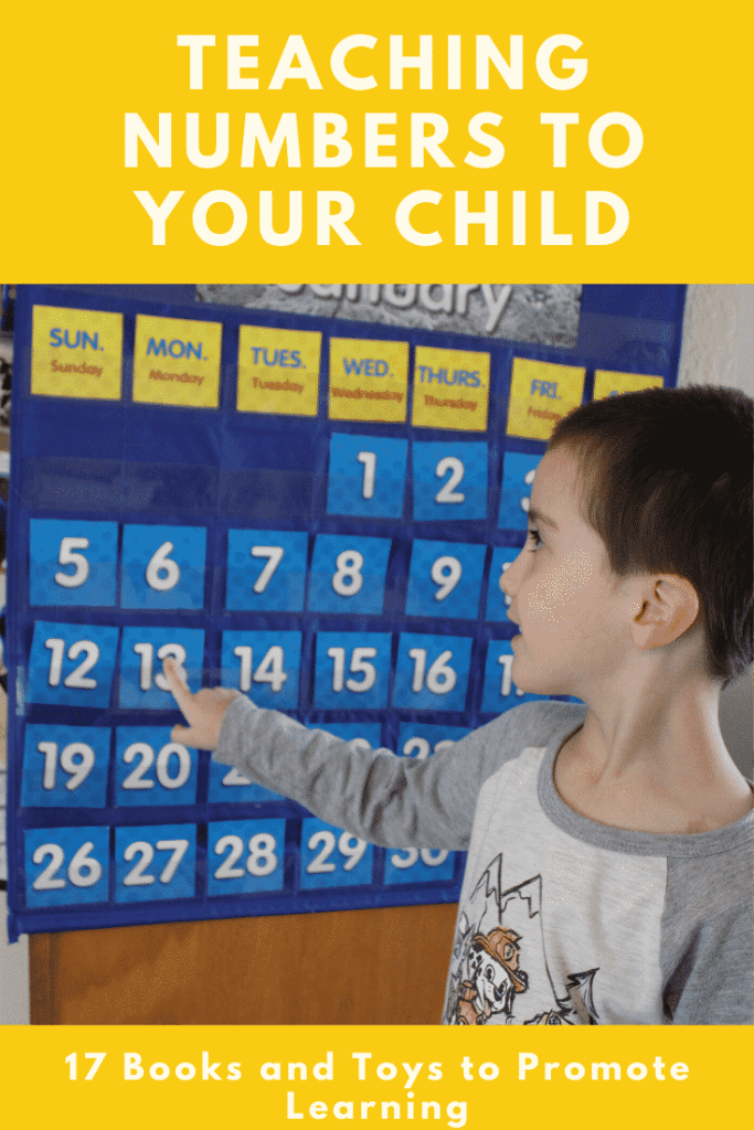 Teaching Numbers to Your Child - 17 toys and books to teach number recognition