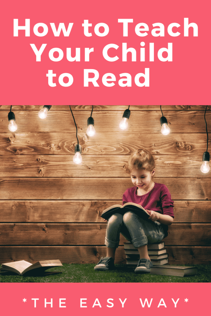 How to teach your child to read: the easy way!  Toys and books that foster early reading skills #teachingreading #learntoread #earlyreader #parenting
