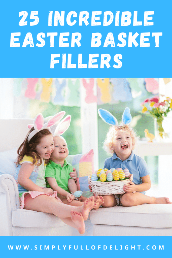 25 Incredible Easter Basket Fillers - Shop these amazing gift ideas for your child's Easter basket!  #uniquegifts #easter #easterbasketfillers #eastergifts