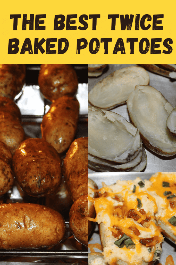 The Best Twice Baked Potatoes - A great make ahead recipe for parties!