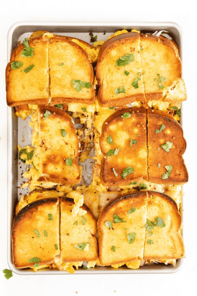 Gluten free breakfast ideas - sliders