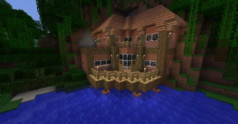 minecraft survival houses clay cool hardened adobe things easy guys know pc too than right modern imgur germanicvs