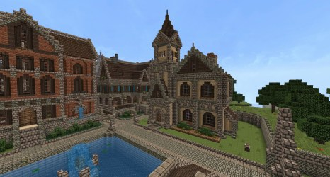 minecraft build cool houses survival beach castle easy modern medieval imgur buildings homes corner builds building victorian related better think