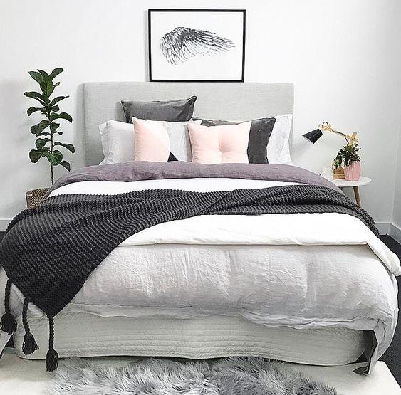 20 grey bedroom ideas