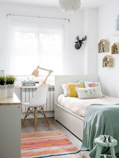 small apartment bedroom idea 20 Small Bedroom Ideas to Make Your Bedroom Looks Roomier