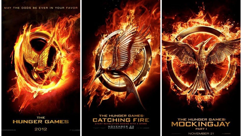 Image result for the hunger games trilogy movies