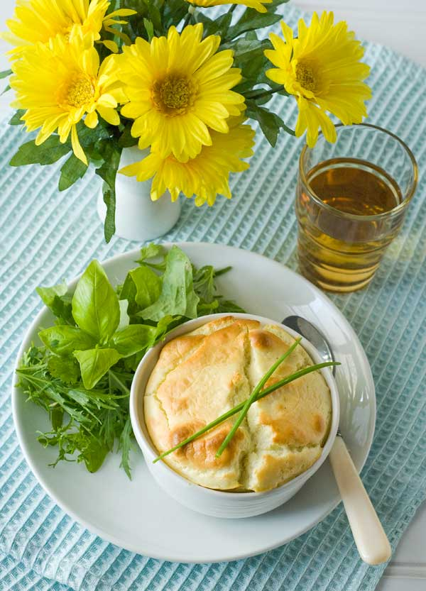 Gluten Free Miracle Herb & Cheese Souffles