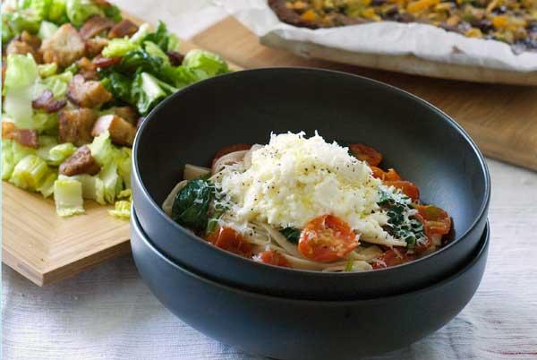 Post image for Gluten Free Ricotta & Tomato Pasta Recipe