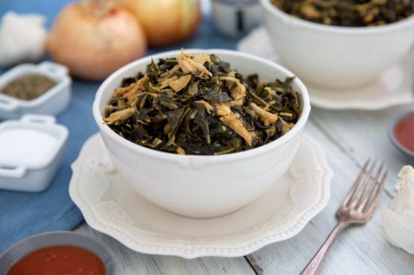 Healthy Southern Collard Greens Recipe Simply Gluten Free