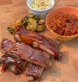 "Smoked Pork Spare Ribs and ""Simply Good"" BBQ sauce"