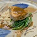 Swordfish with Herb Vinaigrette (Chimichurri Sauce)