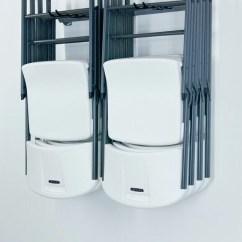 Folding Chair Desk Herman Miller Chairs Ebay Storage Rack