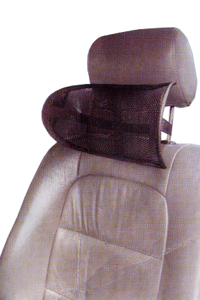 office chair neck support attachment wunda accessories pillow supportive mesh install anywhere perfect for the car