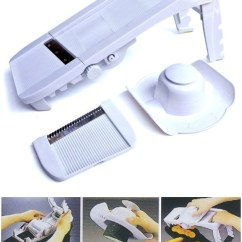 Kitchen Mandoline Aid Sale Deluxe Slicer With Waffle Blade Super Attachment