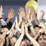 Applause: People Clapping at a Party