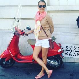 Bridgette in Paris