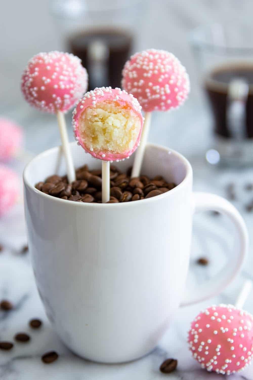 Cake Pops Price : price, Pops-, Starbucks, Copycat, (VIDEO), Simply, Cooked