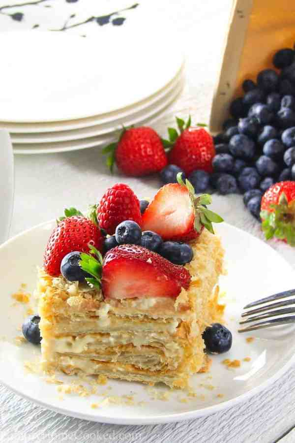 Napoleon Cake Video - Simply Home Cooked