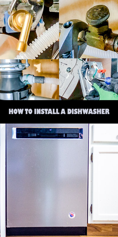 How To Install A New Dishwasher In 5 Easy Steps Simply Home Tips