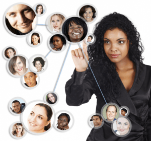 woman-networking