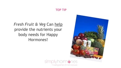 Top Tips for good health at menopause