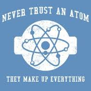 atoms make up evrything