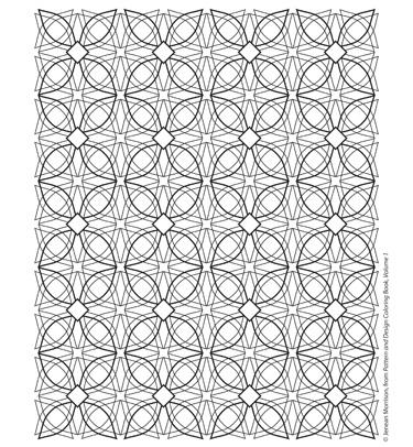 PatternDesignColoringPage012