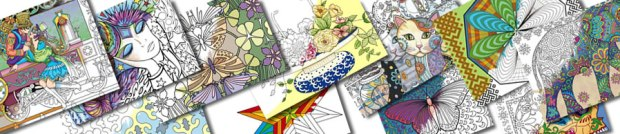 coloringbookdaycollage