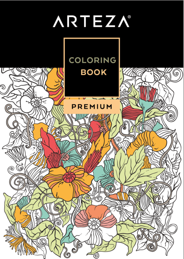 Arteza A Manufacturer Of Markers Colored Pencils And Other Art Supplies Is Offering Free 48 Page Adult Coloring Book On Their Website Youll Need To