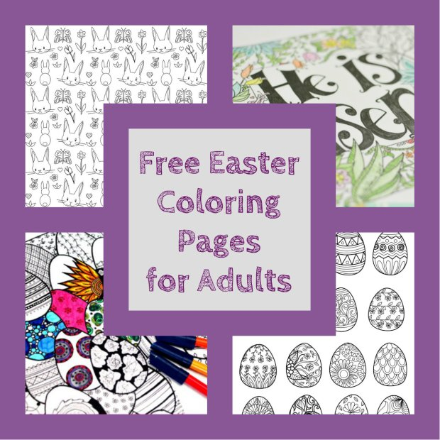 Easter Is One Of My Favorite Holidays If Youre Busy Planning Your Celebration Why Not Try Printing A Few Free Coloring Pages To Get You In The Holiday