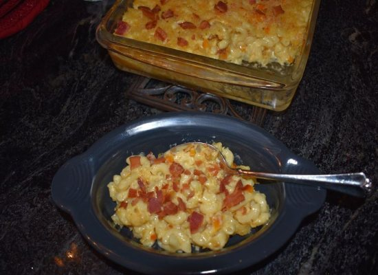 Disney's Pepper Bacon Mac and Cheese