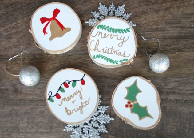 DIY Christmas Coasters| Simply J &K
