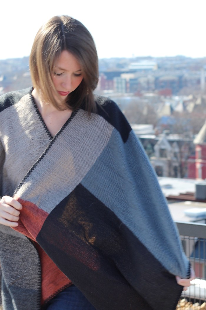 Winter Wear: Ponchos and a Giveaway from PinkBlush