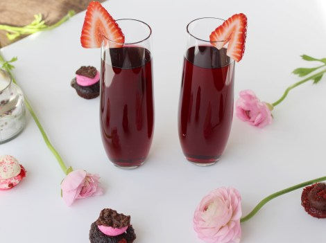 Valentines Day Cocktail from Simply JandK