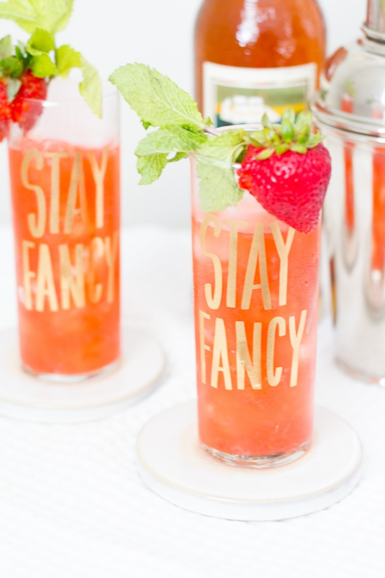 Sweet Strawberry Mojito