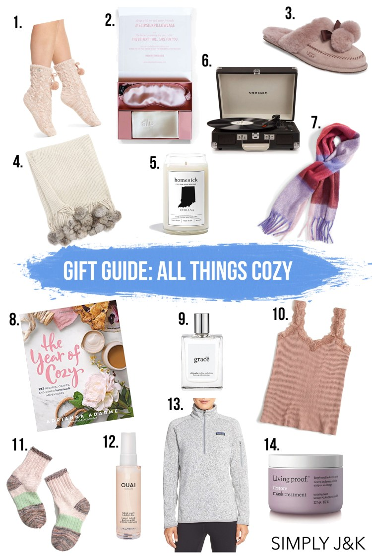 Gift Guide: All Things Cozy