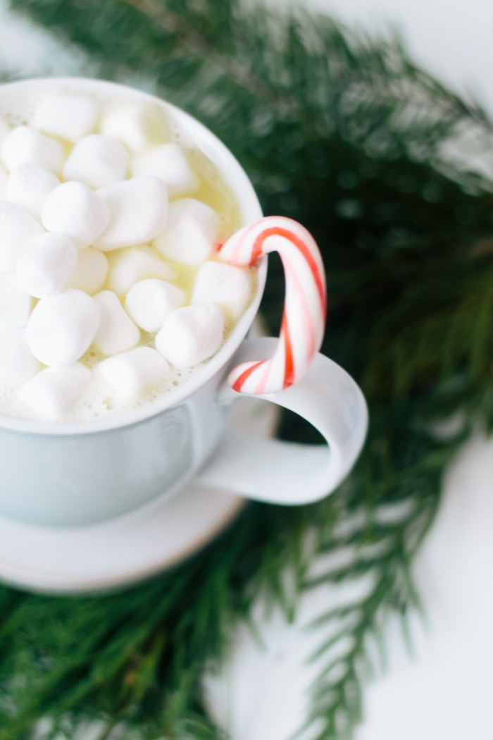 White Chocolate Christmas Cocoa