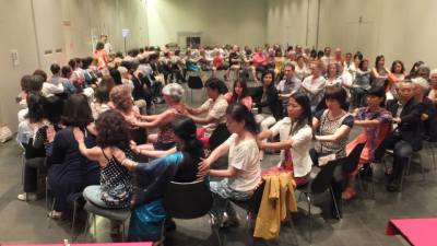 Jikiden Reiki practitioners come together at the first Jikiden Reiki World Congress in Barcelona Spain, 2014