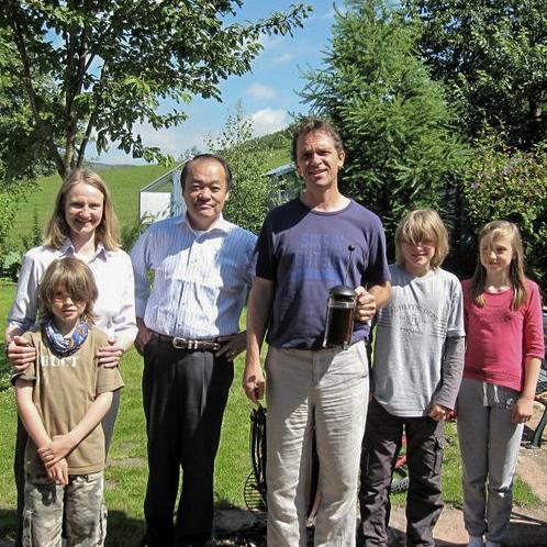 Gisela Stewart Family, Simply Jikiden Reiki