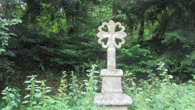 Another beautiful stone cross along the Way