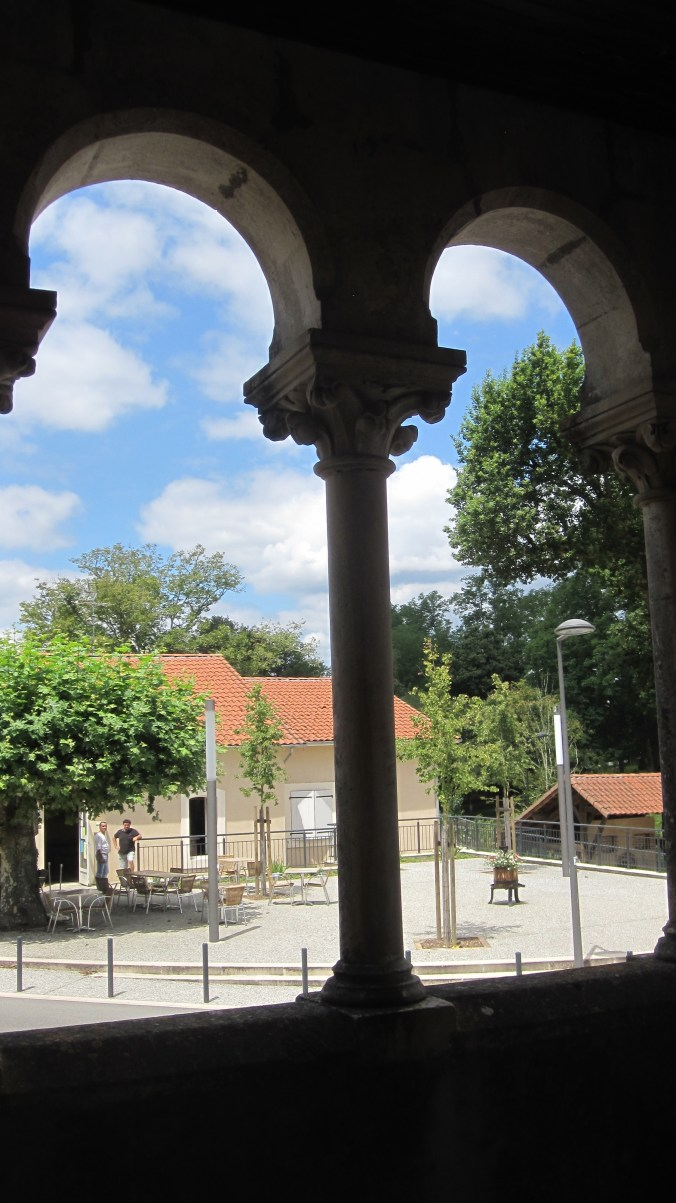 View from the attic of the church